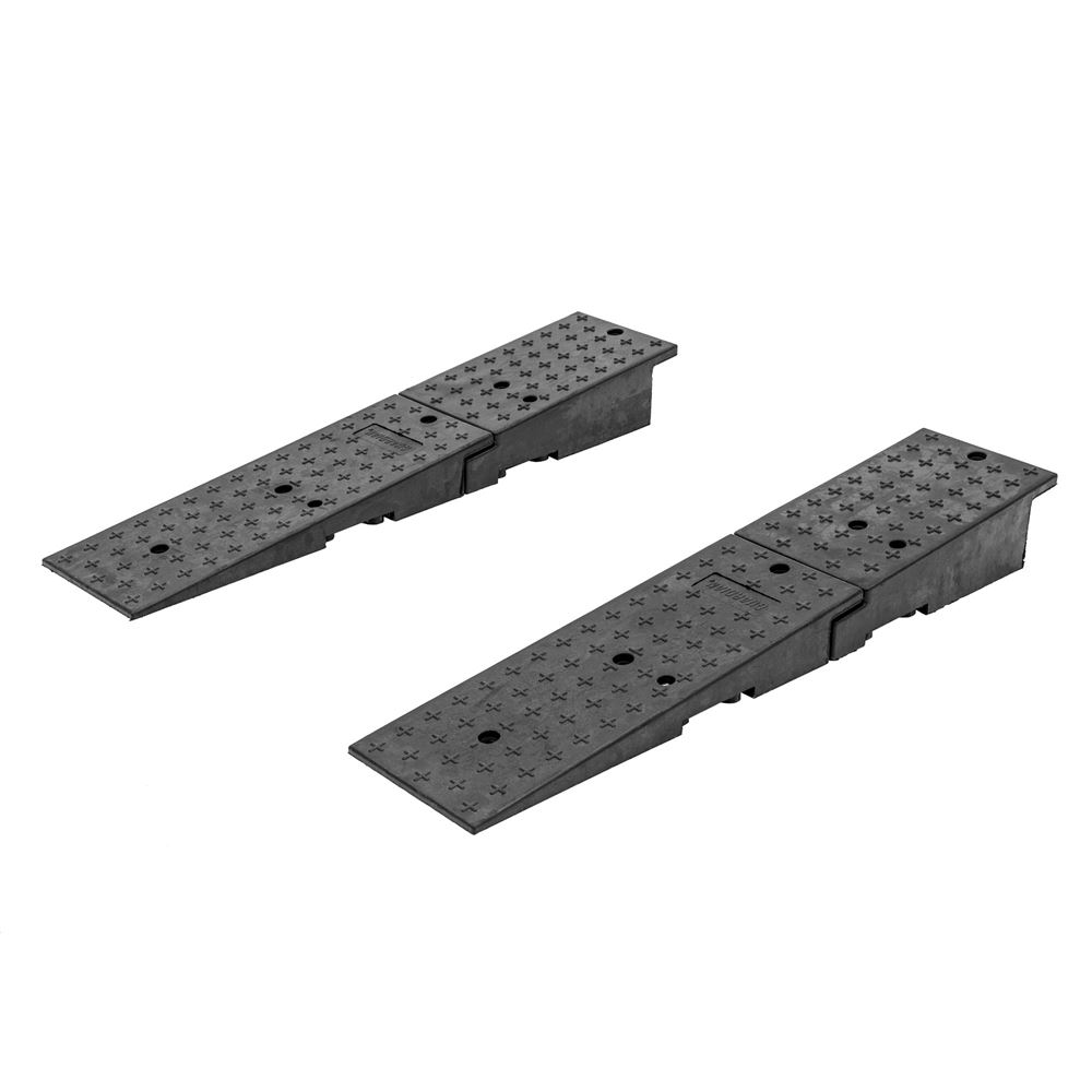 20CR24911 Guardian Rubber Dual Wedge Shipping Container Ramps - 49 x 11