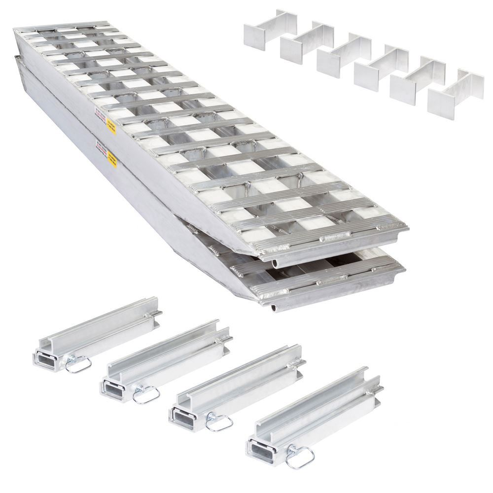23-18-096-02-02-MLL-2 8 L x 18 W 2 Bunk Load Leveler  2 Ramp System for 18 H Step Deck Trailers  23 500 lb Capacity