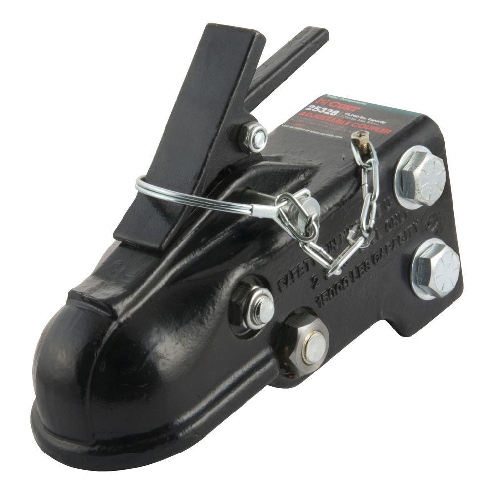 25328 Curt 25328 Adjustable Sleeve-Lock Coupler