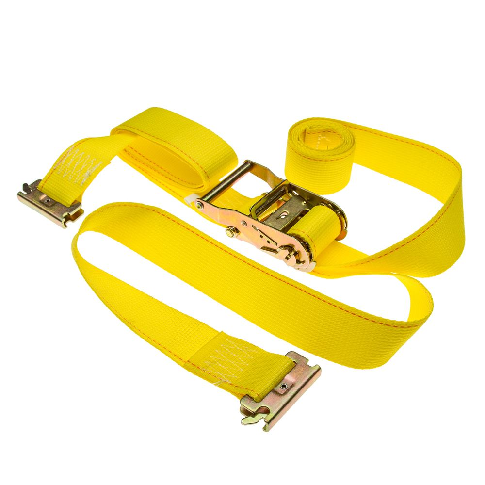 2in-Rat-Etrack 2-Pack of 2 x 12 Ratchet Straps with E-Fittings