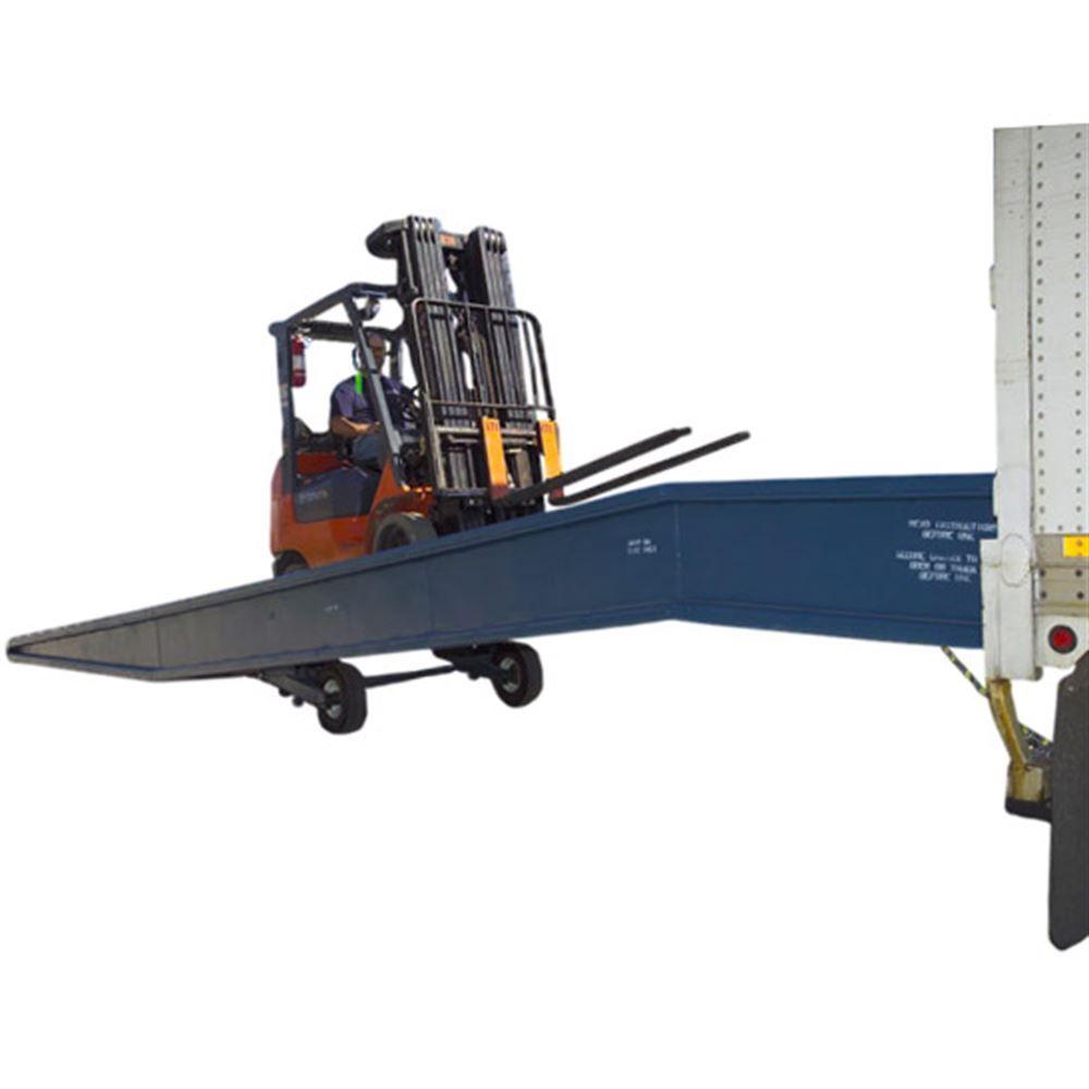 30SYS8436L 36 L x 84 W 30000 lb Capacity Bluff Steel Yard Ramp