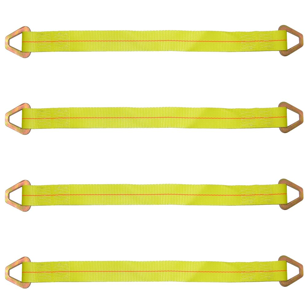 38-57-20-4 BA Products 20 1-Ply Axle Strap with Delta Rings - Set of Four