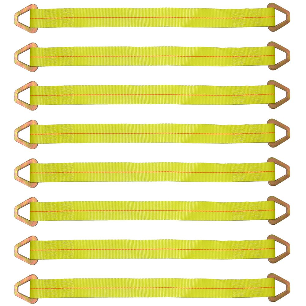 38-57-20-8 BA Products 20 1-Ply Axle Strap with Delta Rings - Set of Eight