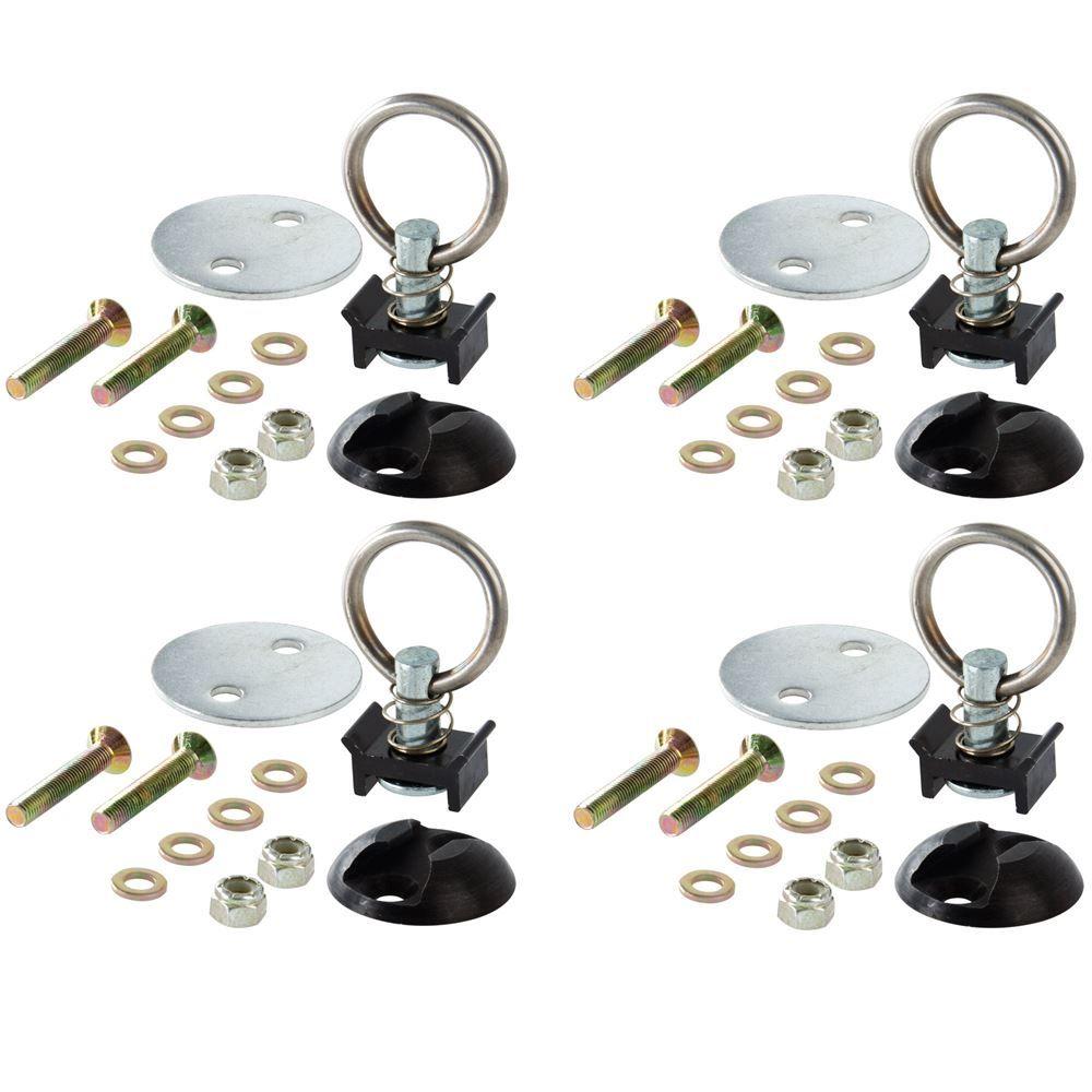 4-Ring-Kit Stud Ring Tie Down Kit