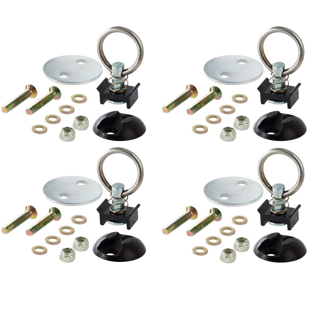 4-Ring-Kit Stud Ring Tie Down Kit