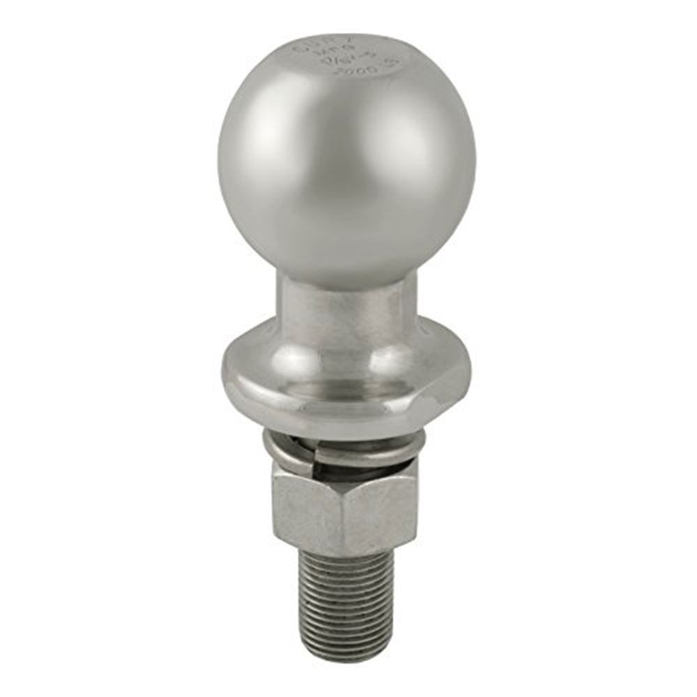 40080 Curt 40080 1-78 In Diameter Stainless Trailer Ball Packaged