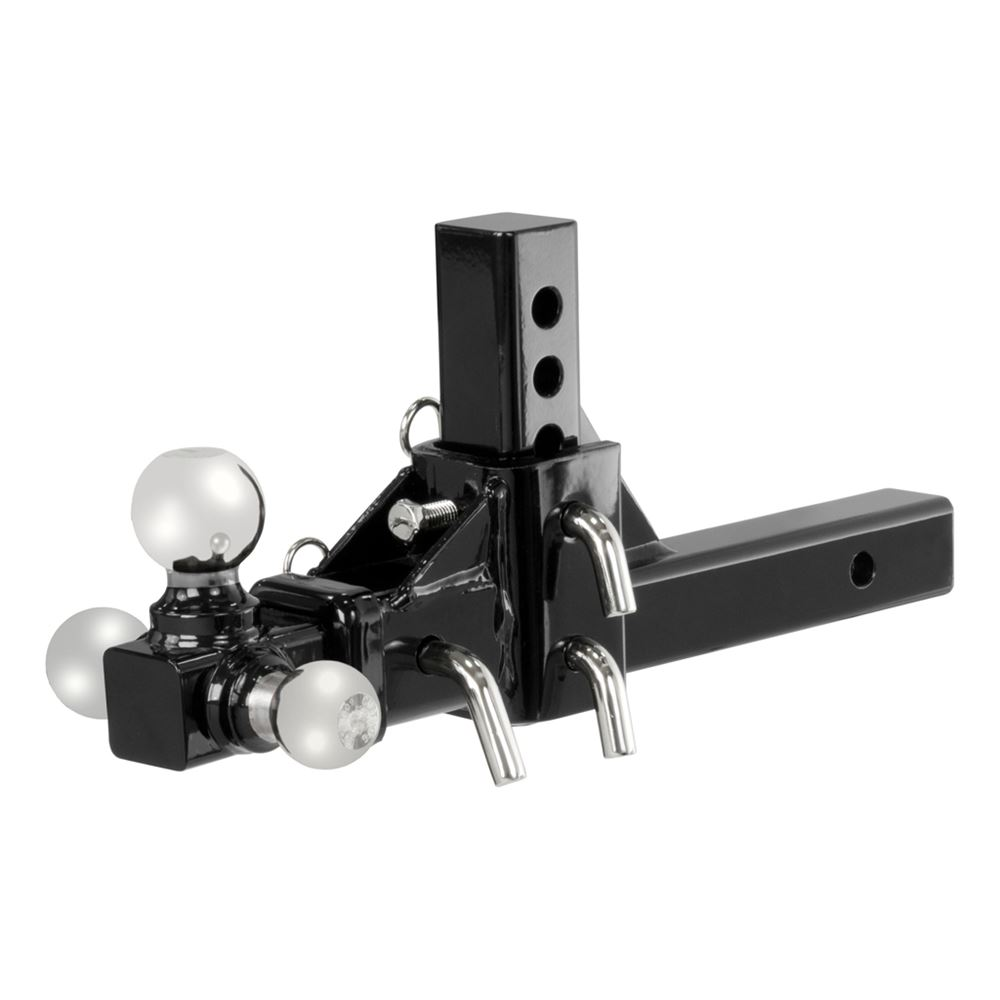 45799 Curt 45799 Adjustable Tri-Ball Mount Assembly