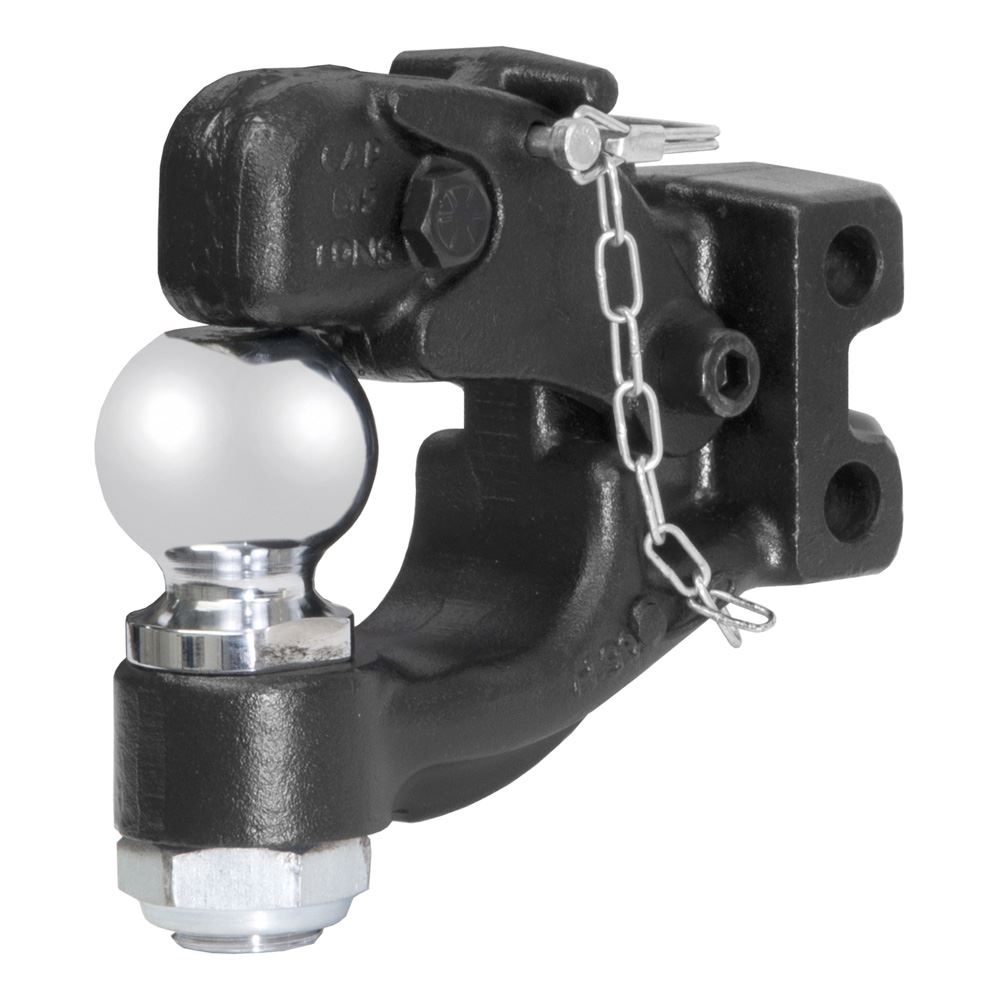 45919 Curt 45919 Channel-Mount Forged Pintle and Ball