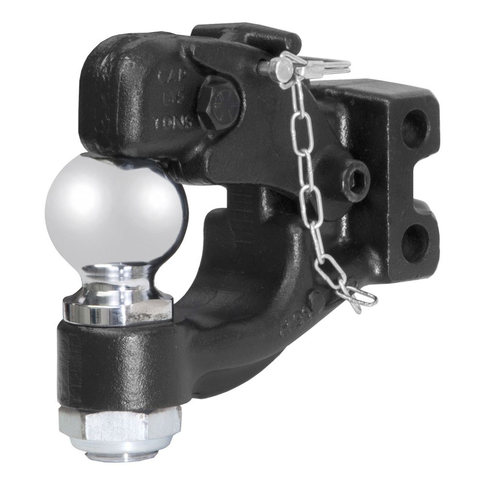 45920 Curt 45920 Channel-Mount Forged Pintle and Ball