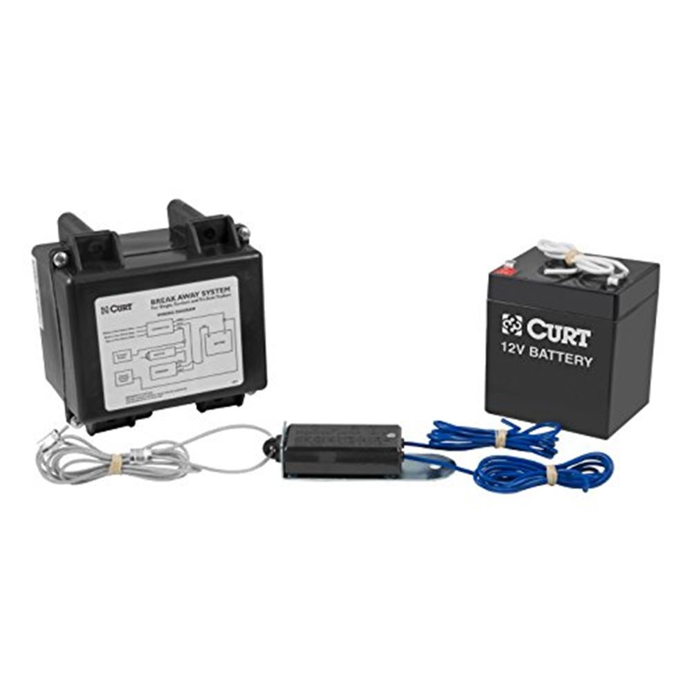 52041 Curt 52041 Softtrac I Breakaway Kit WO Charger