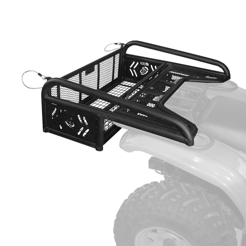 atv universal plow system snow rack switchblade kolpin