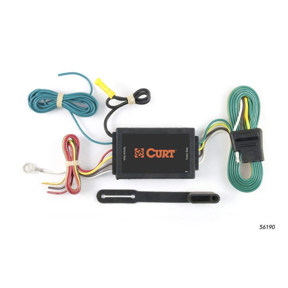 56190 Curt 56190 Heavy Duty 3-Wire to 2-Wire Powered Converter