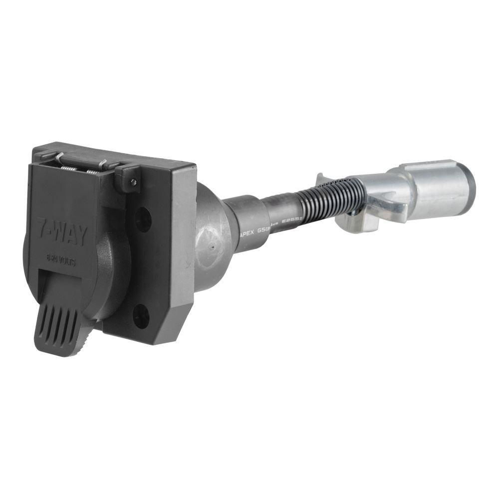 57667 Curt 57667 6-Way Round to 7-Way RV Blade Connector