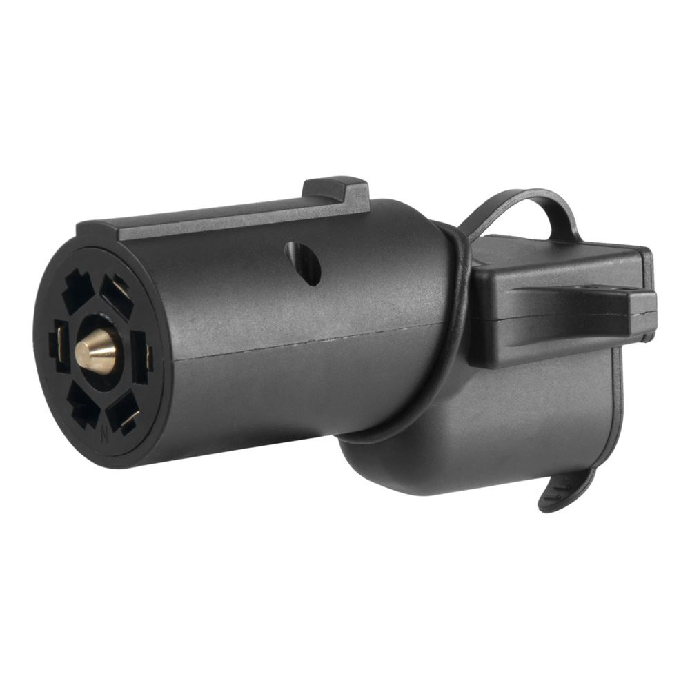 57724 Curt 57724 7-Way Adapter with Back-Up Alarm