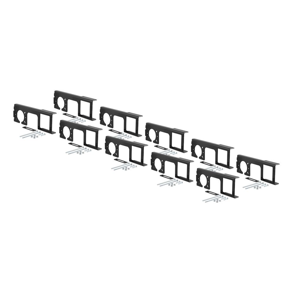 58000010 Curt 58000010 Easy Mount Electrical Bracket for 2 Receiver Tube Pack of 10