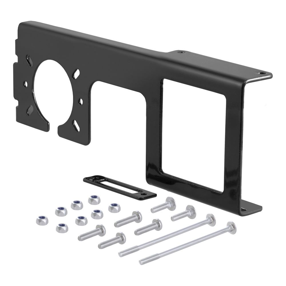 58003 Curt 58003 Easy Mount Electrical Bracket for 2-12 Receiver Tube
