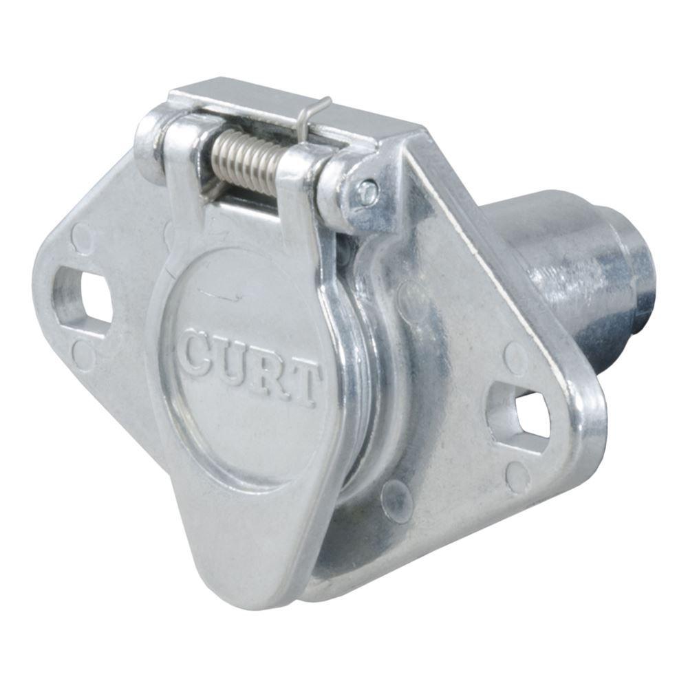 58090 Curt 58090 6 Pole Die Cast Connector Car End Bulk