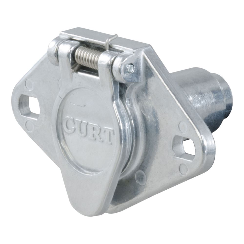 58091 Curt 58091 6 Pole Die Cast Connector Car End Packaged