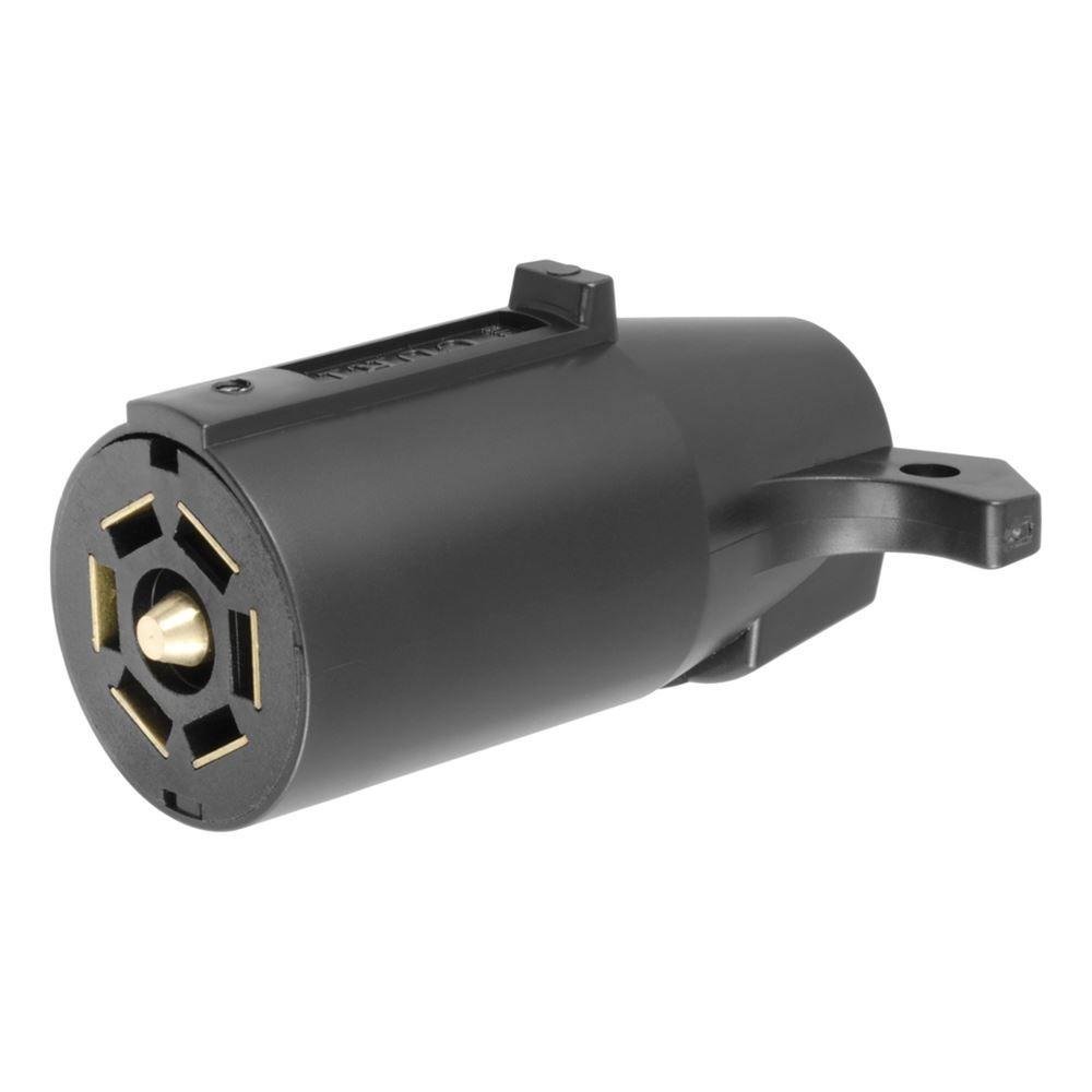 58141 Curt 58141 7 Pole Plastic Connector Trailer End Pkg