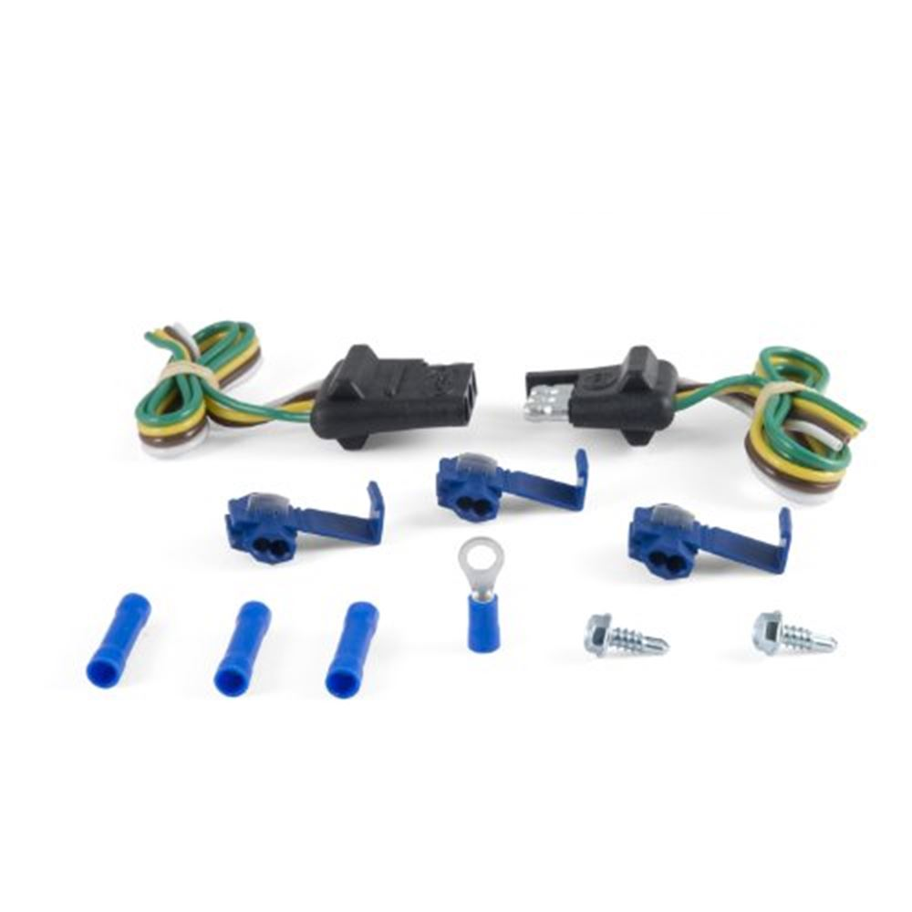 58344 Curt 58344 Flat 4-Way Trailer End Connector Kit