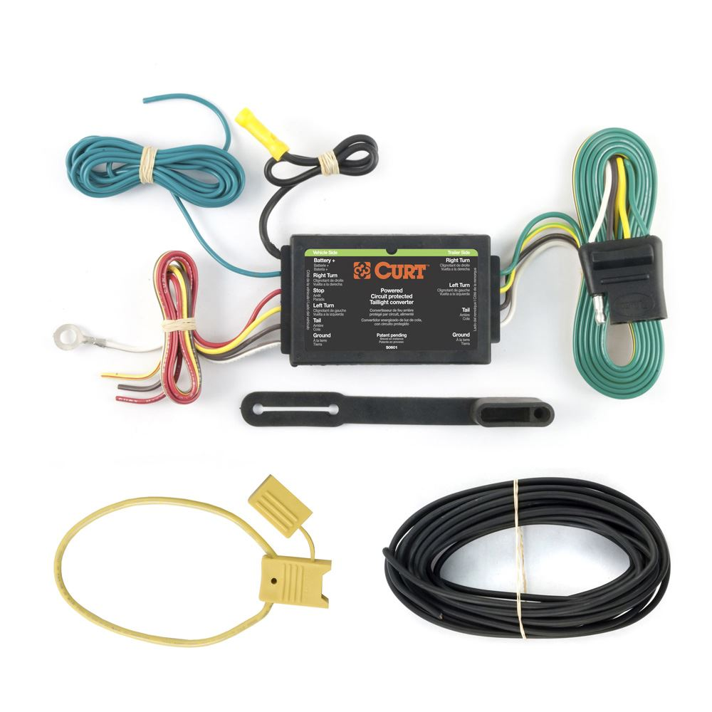 59190 Curt 59190 Converter and Wiring Kit