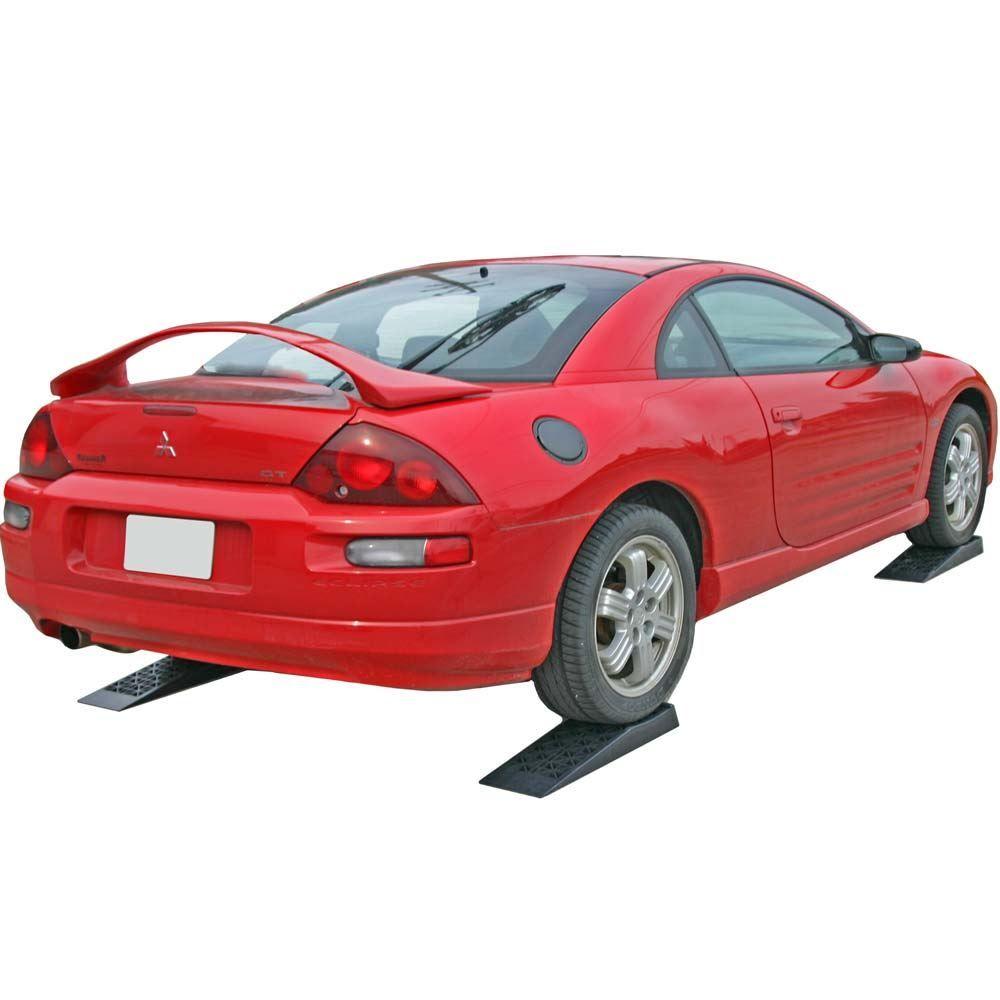 6009-V2 Plastic Low Profile Car Service Ramps - 4400 lb Capacity