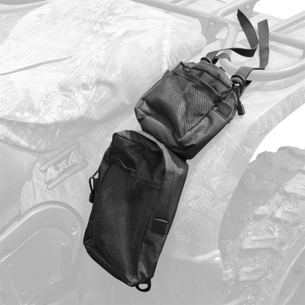 62107 Black Widow ATV Fender Pack Bags