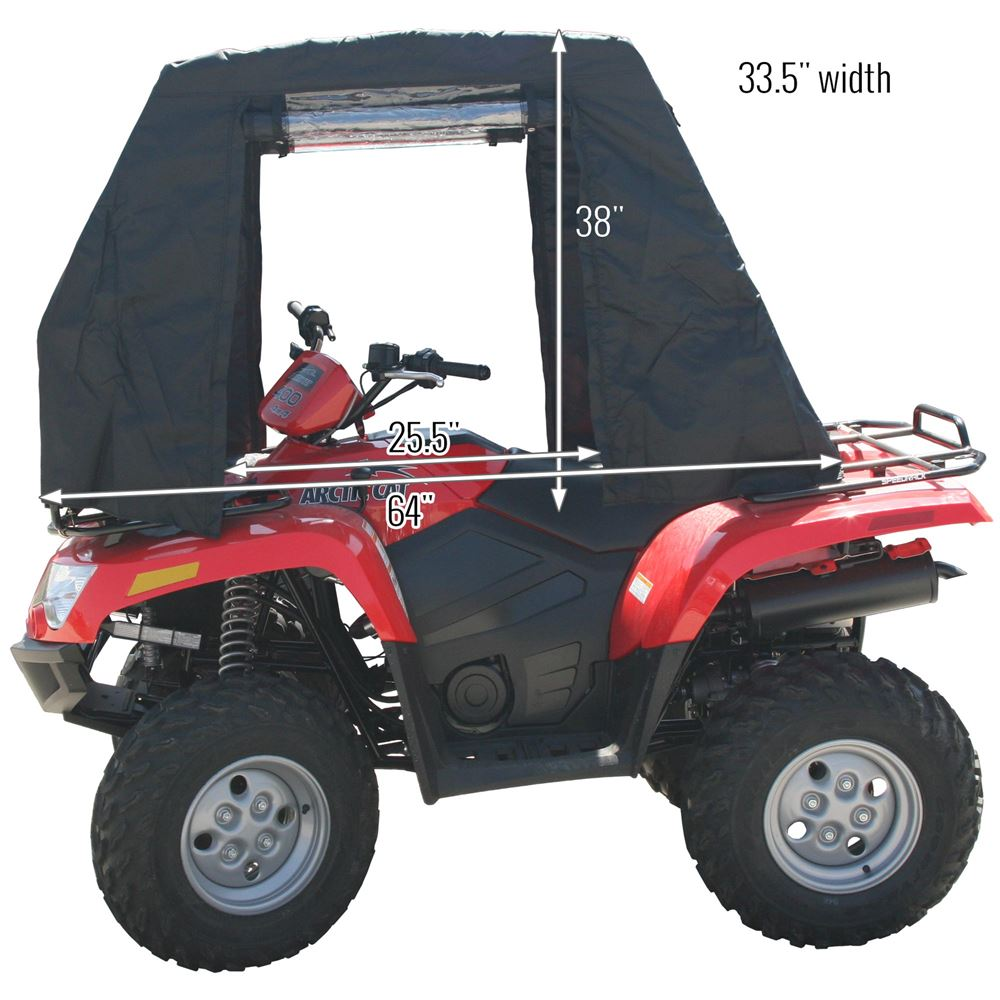 Black Widow Atv Cabin Cover Discount Ramps