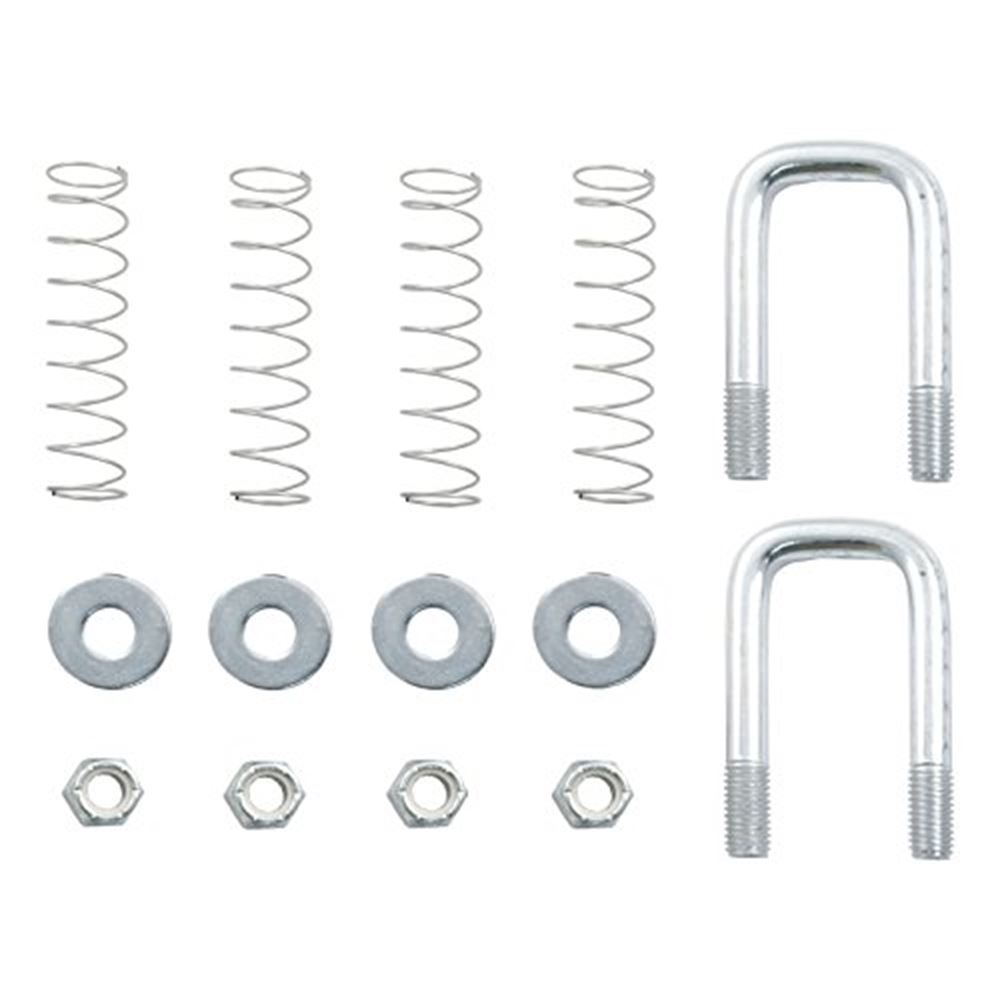 66113 Curt 66113 Safety Chain U-Bolt Kit For Quick Goose Assembly