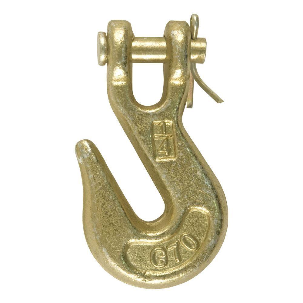 81502 14 Clevis Grab Hook Grade 70 3150lb Capacity