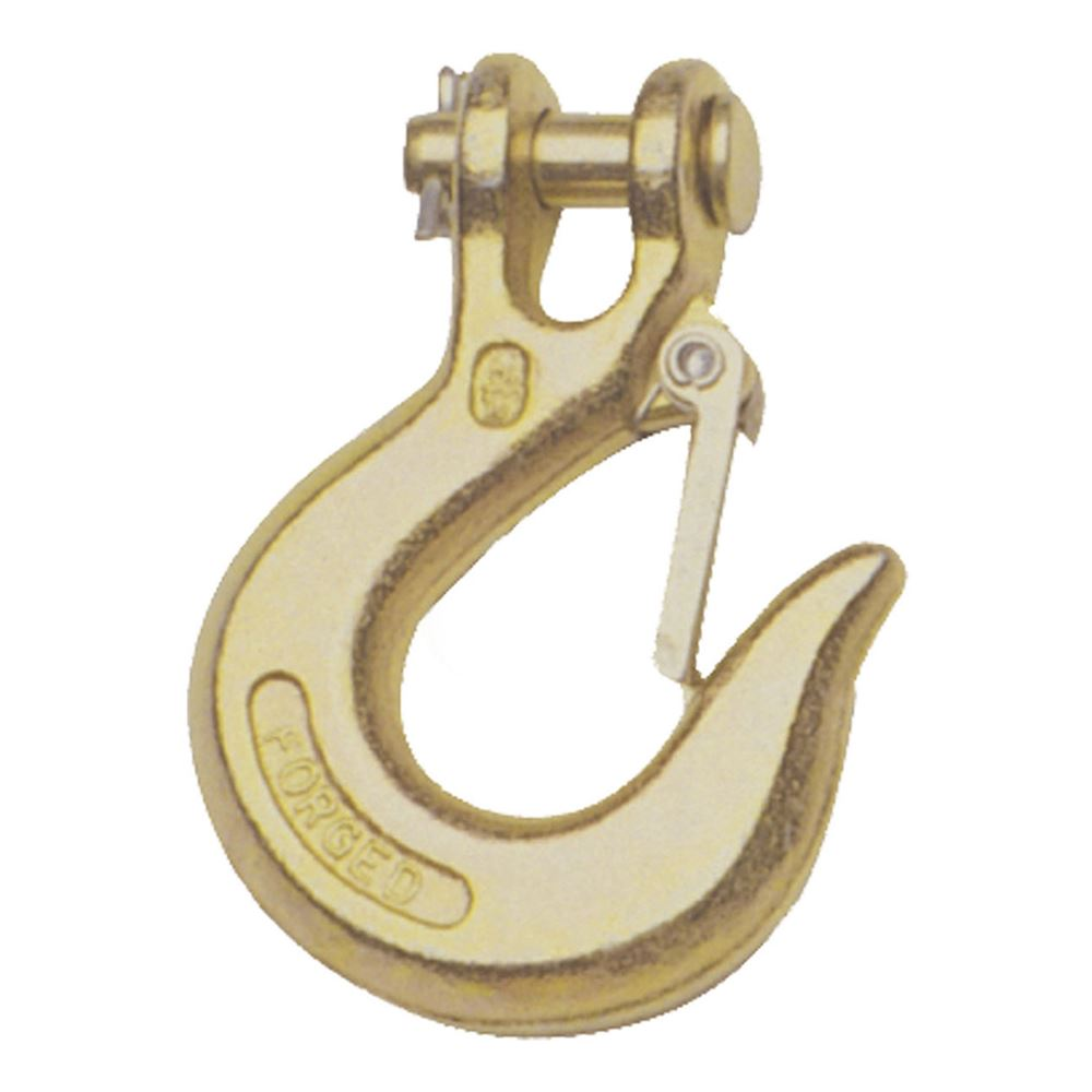 81900 Curt 81900 14 In Clevis Safety Latch Hook Grade 43 7800 Lb Gvwr