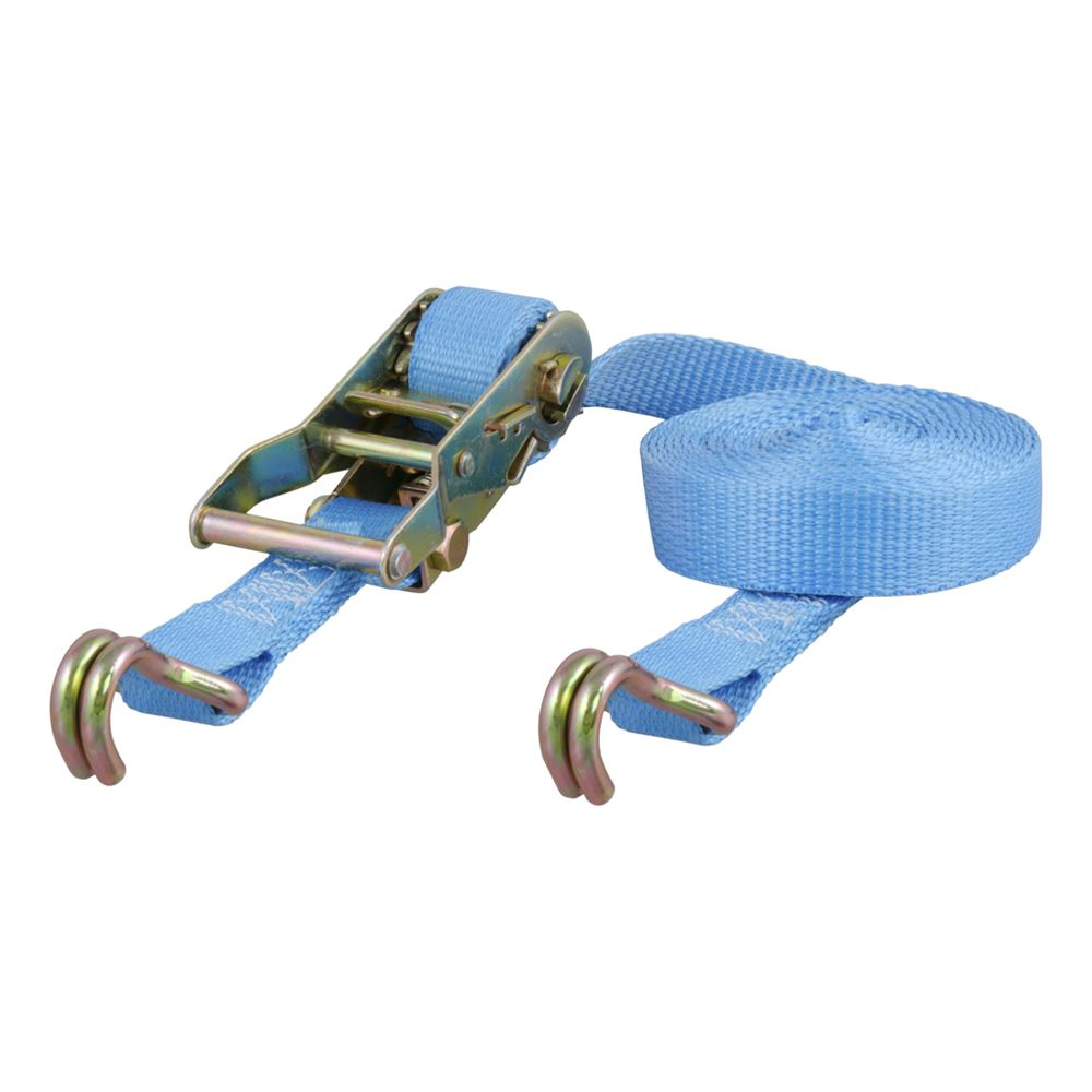 83053 1 In x 15ft Ratchet With J-Hooks 3000lb Capacity Bulk