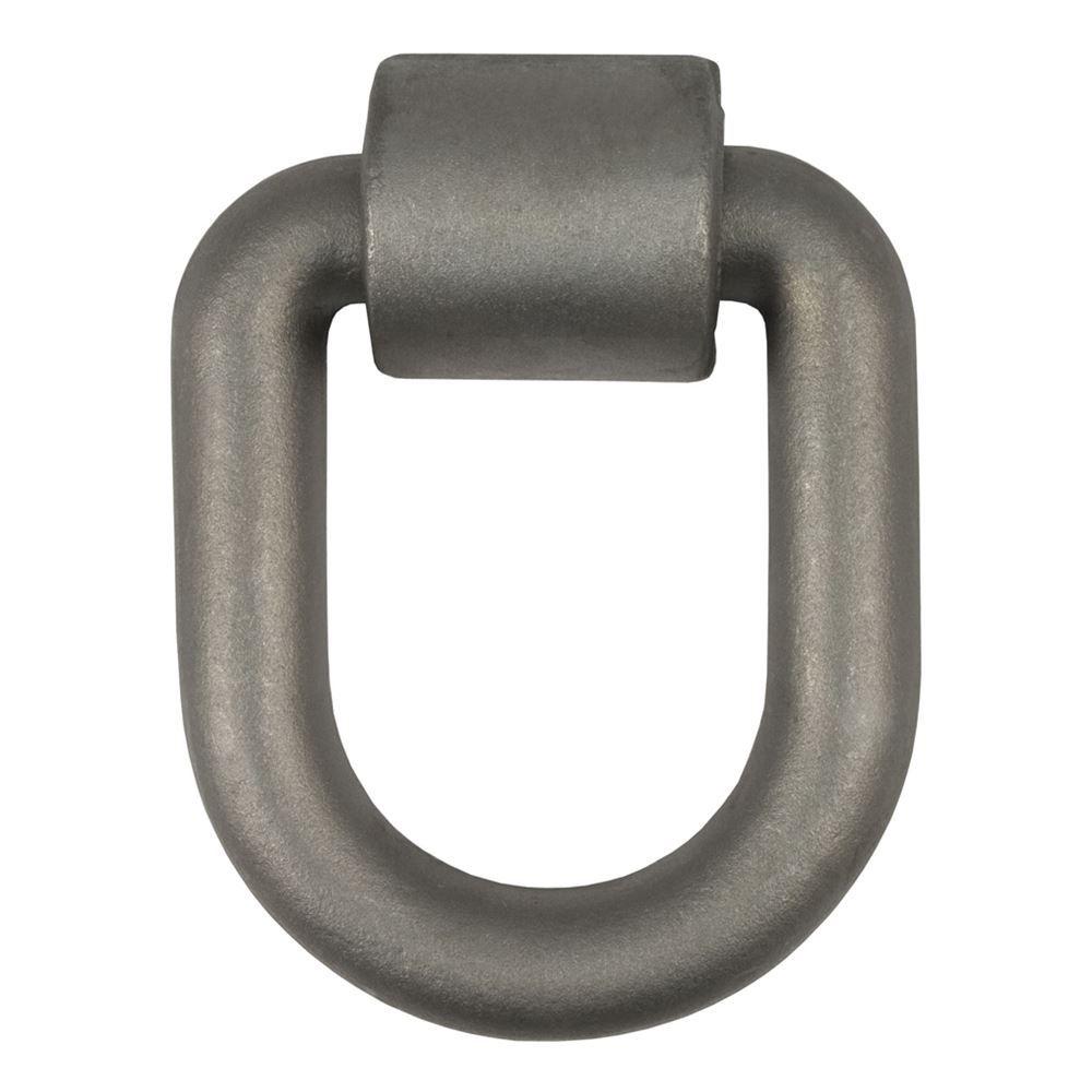 83780 Curt 83780 46760 Lb Cap 1 In x 5 In x 6 In Forged D-Ring WBracket