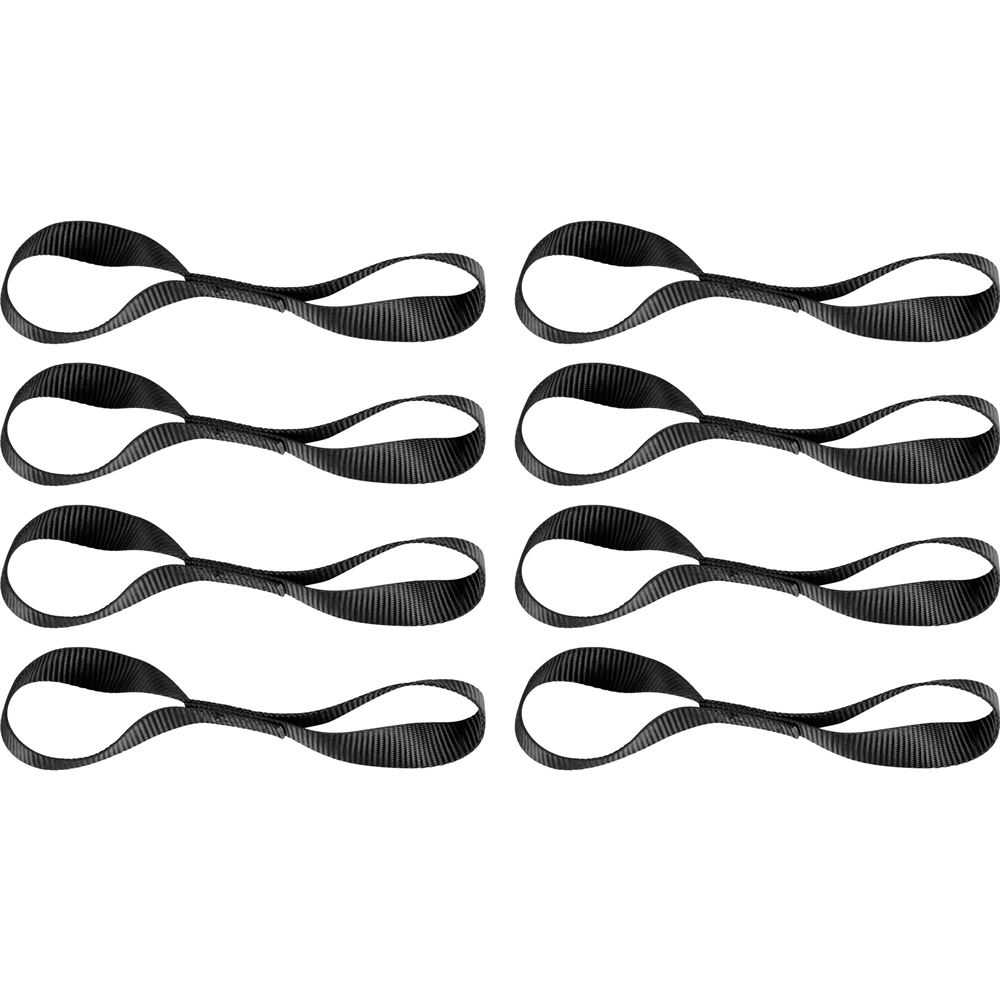 8S-Loop 8-Pack of 1 Soft Loop Straps