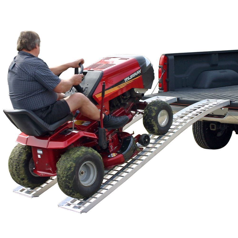 Lawn Mower Ramps