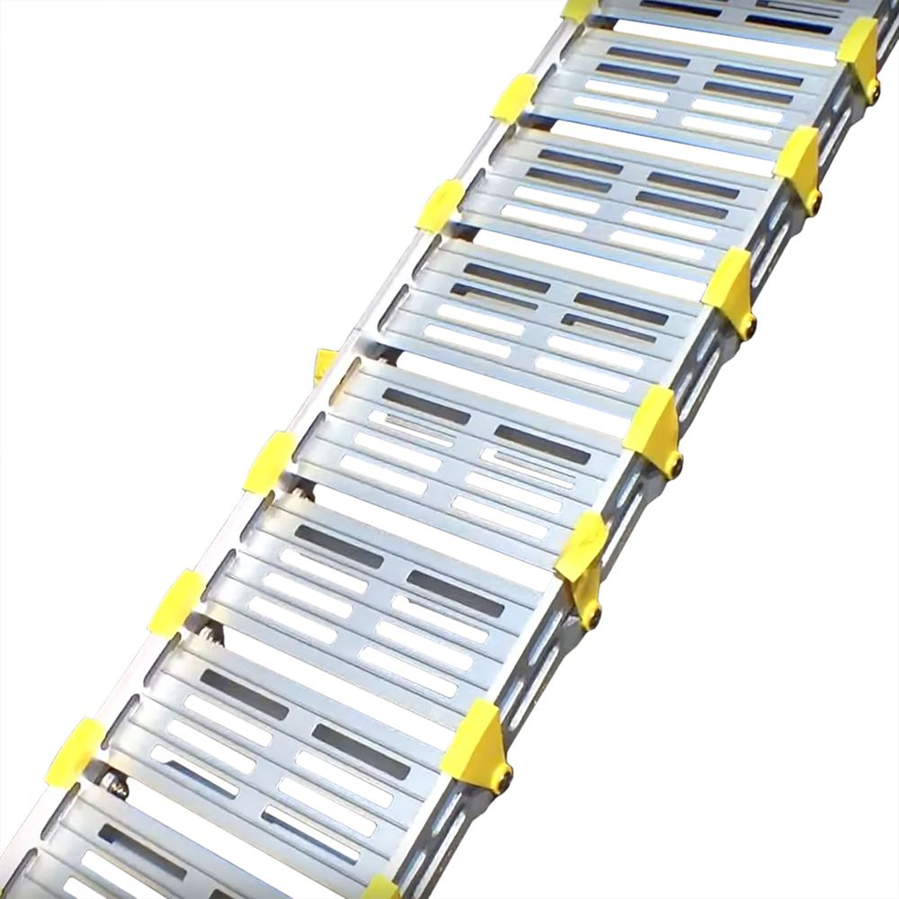 A112 Roll-A-Ramp Aluminum Roll-Up Twin Track Ramps 2