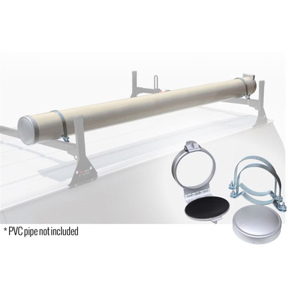 A34W White Vantech 6 Conduit Carrier for Aluminum Channels