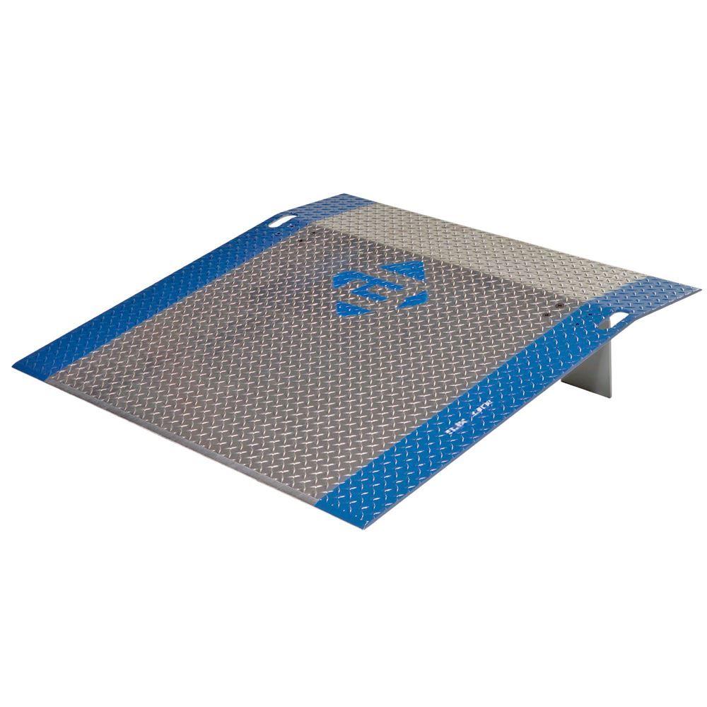 A4866 66 x 48 Bluff Aluminum Model A Dock Plates - 38 Thick Plate