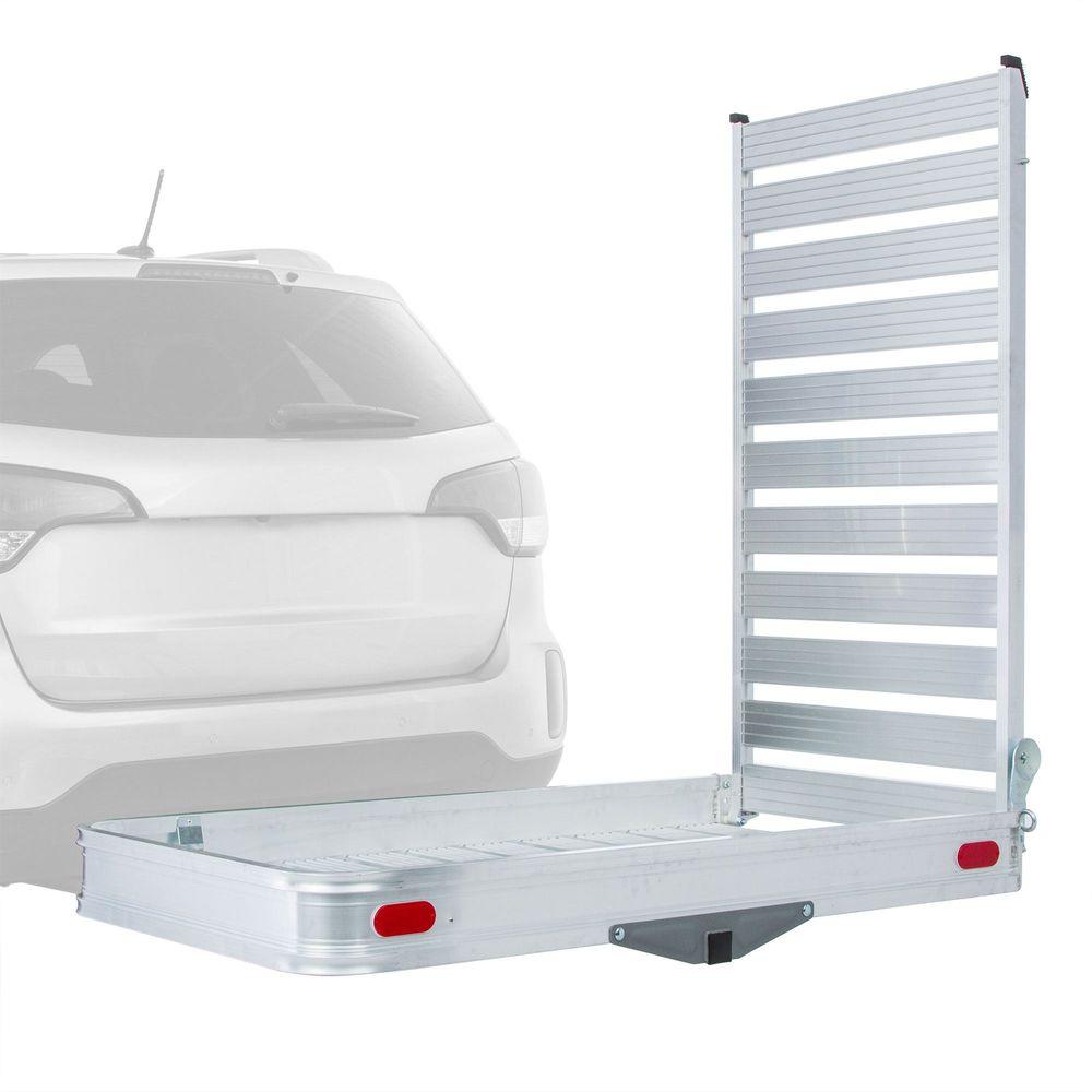 ACC-500 Apex Aluminum Tray Premium Cargo Carrier with Ramp