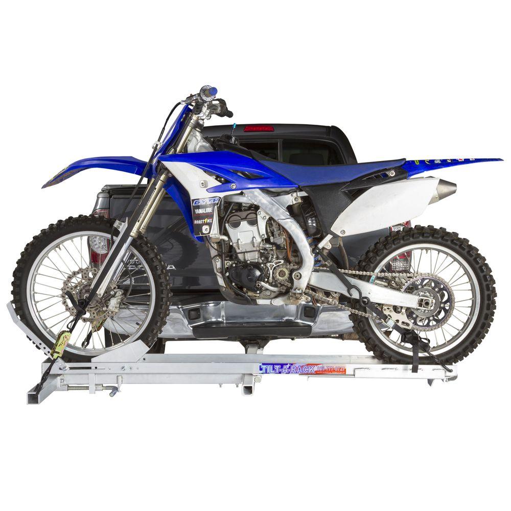 ACR-MOTORCYCLE-CARRIER Tilt-A-Rack Aluminum Tilting Motorcycle Carrier