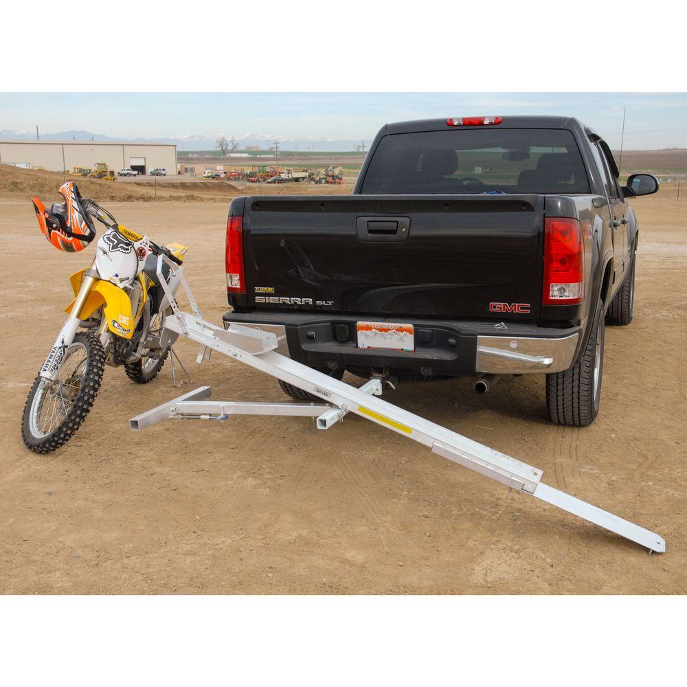 Tilt-A-Rack Aluminum Tilting Motorcycle Carrier
