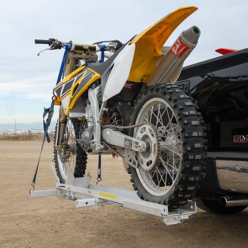 Tilt-A-Rack Aluminum Tilting Motorcycle Carriers - 400 lb ...