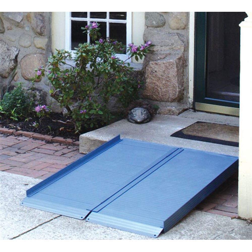 ACRFN AlumiRamp Aluminum Landscape Series Single Fold Wheelchair Ramps