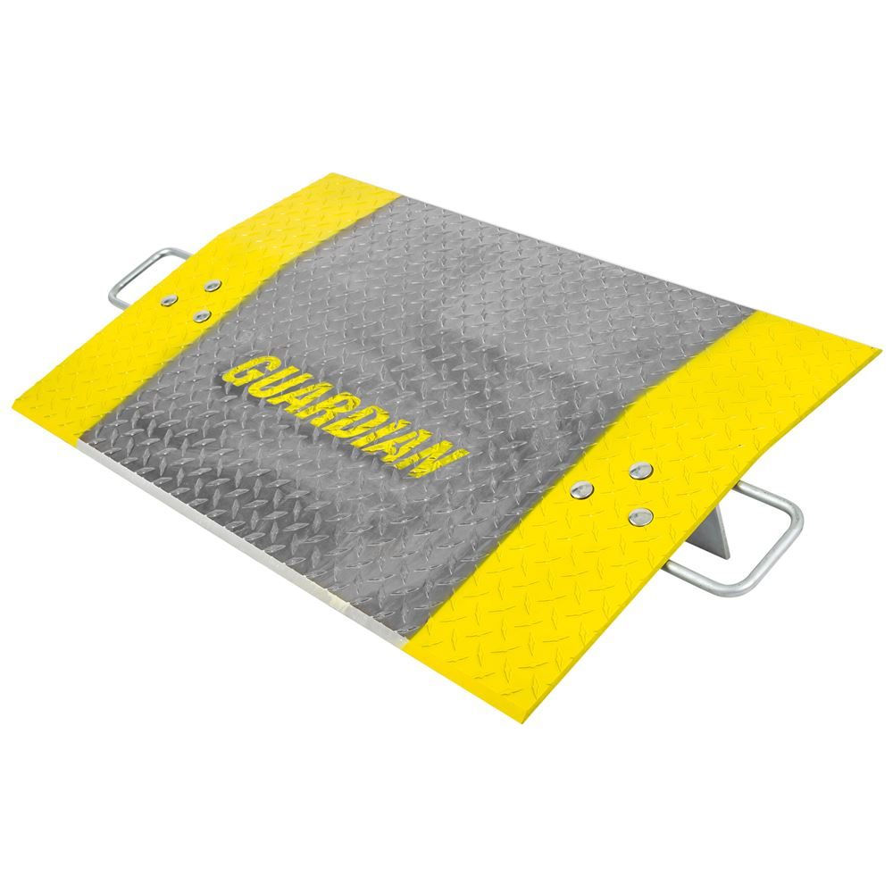 ADP-2436-3600 24 x 36 38 Thick Guardian Aluminum Dock Plate