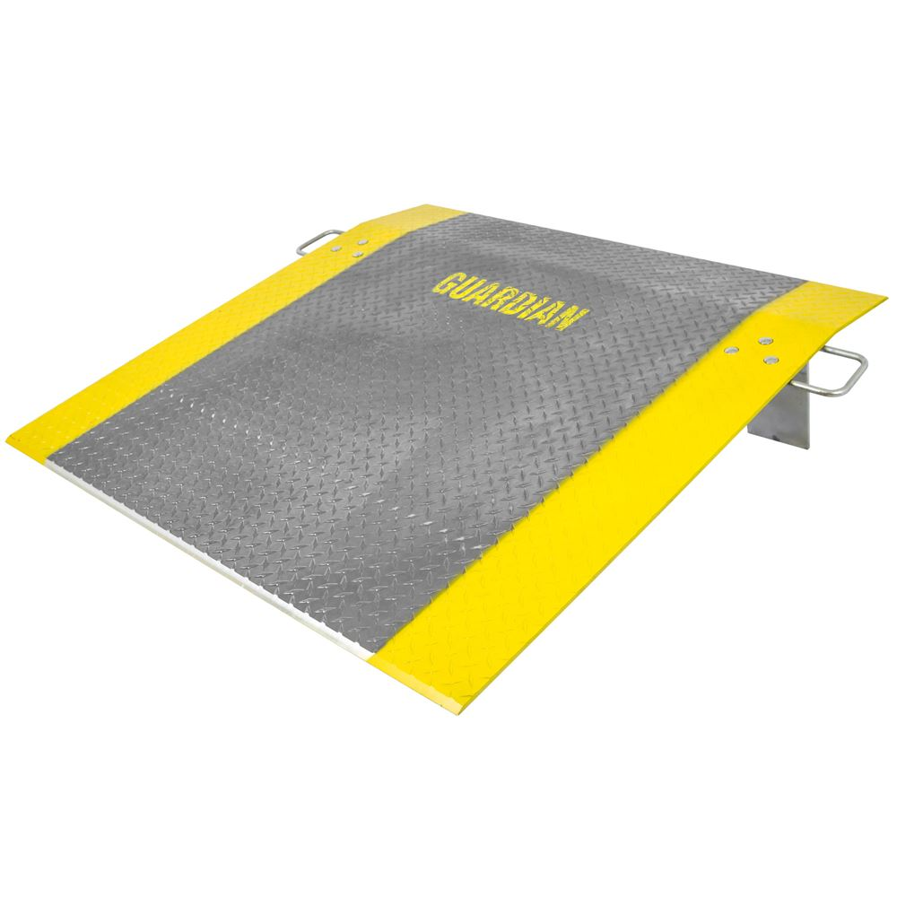 ADP-4848-2600 48 x 48 38 Thick Guardian Aluminum Dock Plate