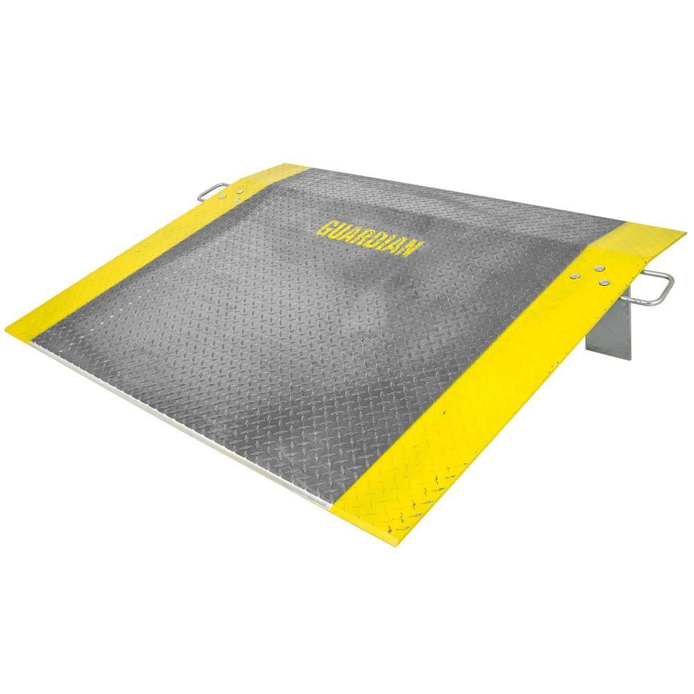 ADP-4860-2900 48 x 60 38 Thick Guardian Aluminum Dock Plate