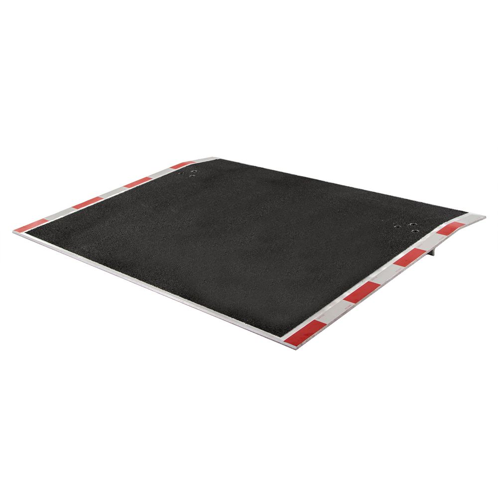 ADP-6036-6000-GRIT 36 x 60 Guardian Aluminum Dock Plate with Grit Surface