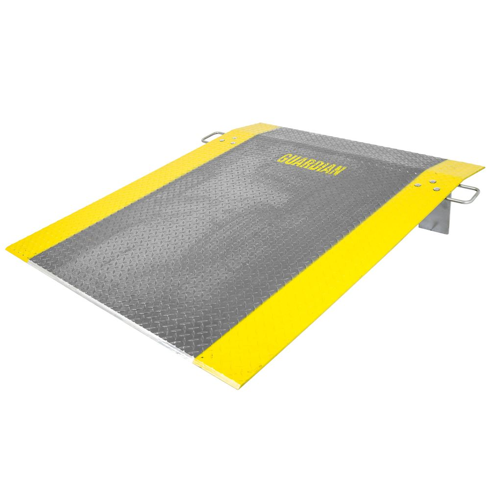 ADP-6048-1800 60 x 48 38 Thick Guardian Aluminum Dock Plate