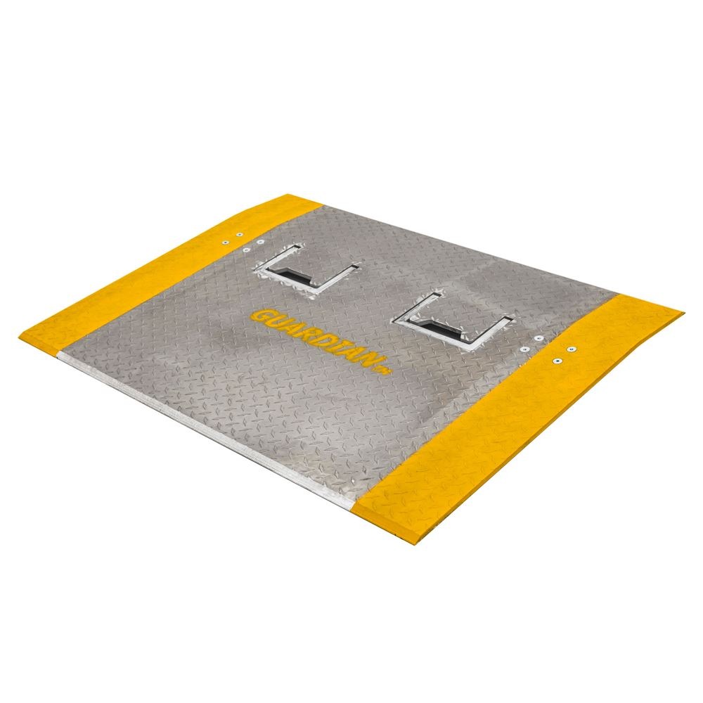 ADPH Guardian Aluminum Dock Plates with Handles