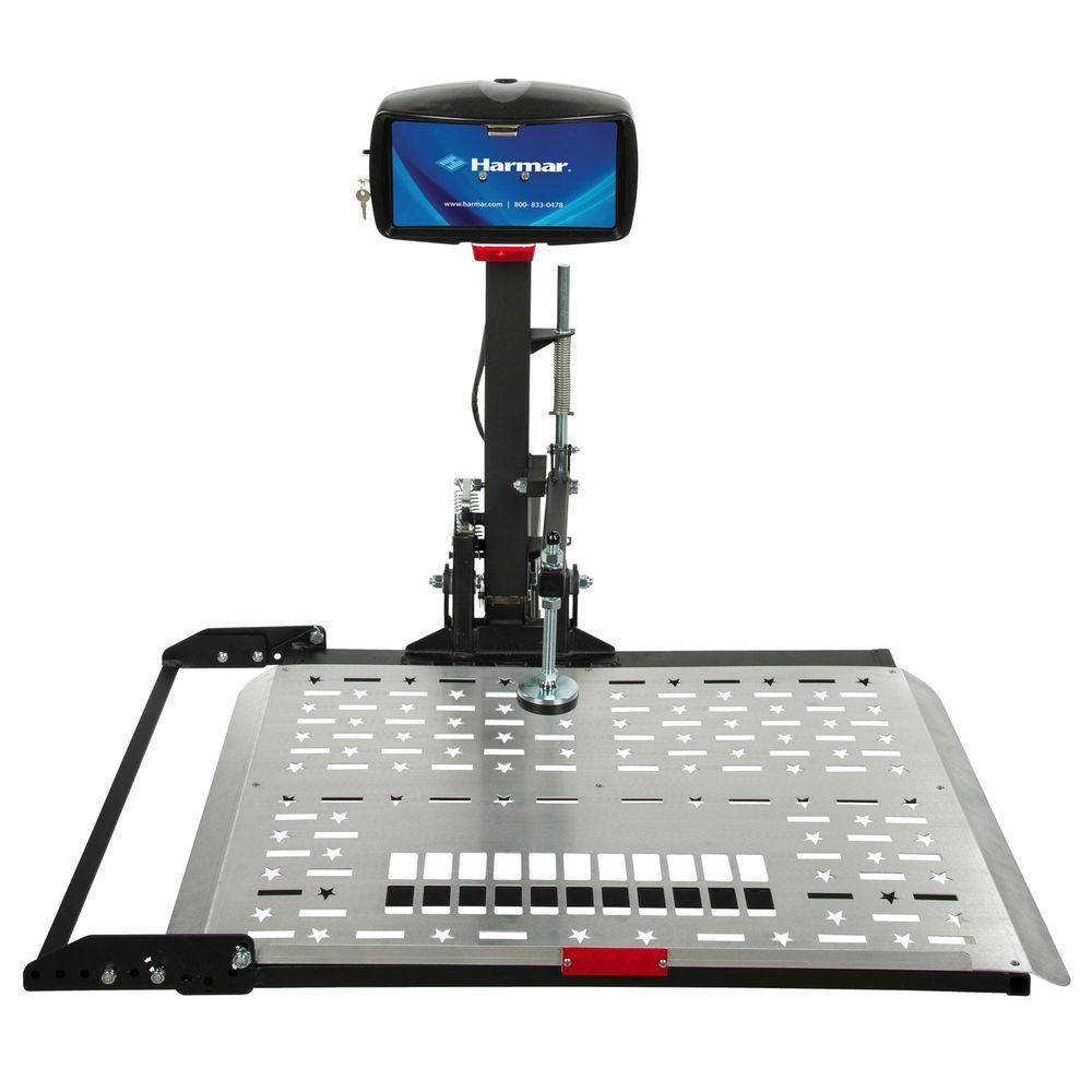 harmar electric universal scooter lift carrier discount ramps rh discountramps com Hoist Wiring-Diagram Control Line Hoist Wiring-Diagram Control Line
